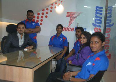 Team of Tranceform Fitness