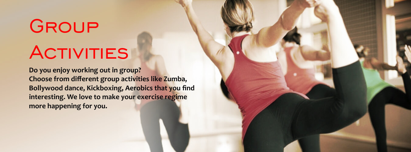 Group activities conducted at tranceformfitness.com a gym in pune