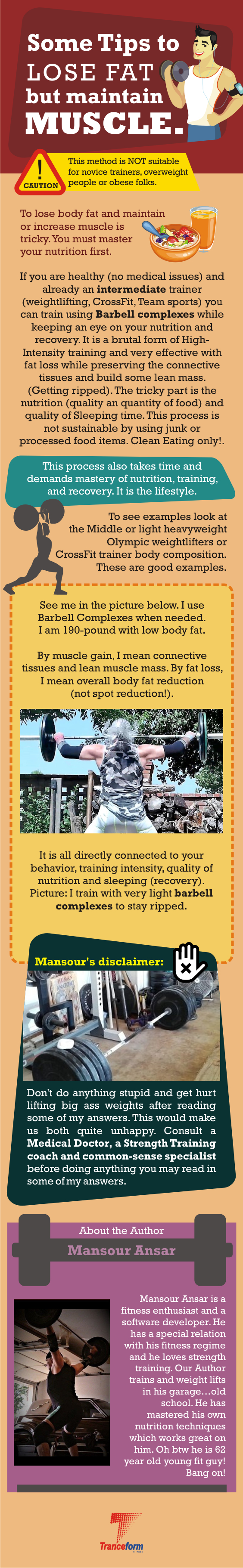 Tips To Lose Fat and gain Muscle